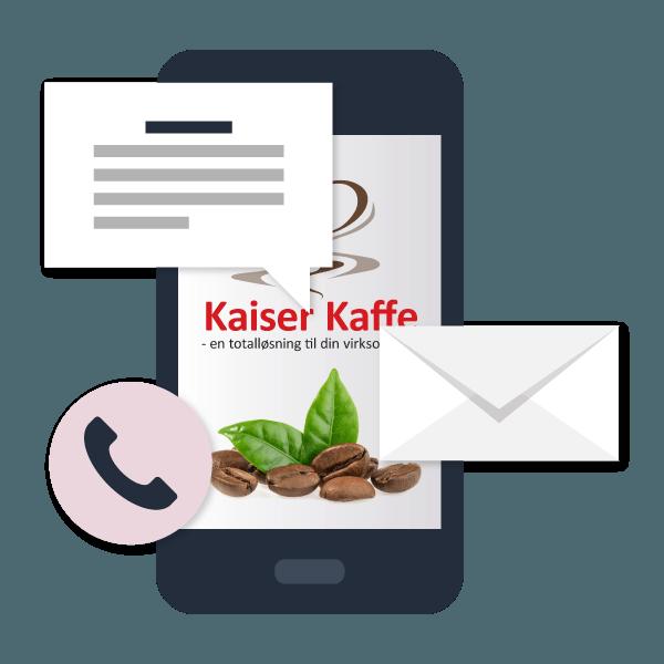 phone 2 - Lej Kaffemaskine