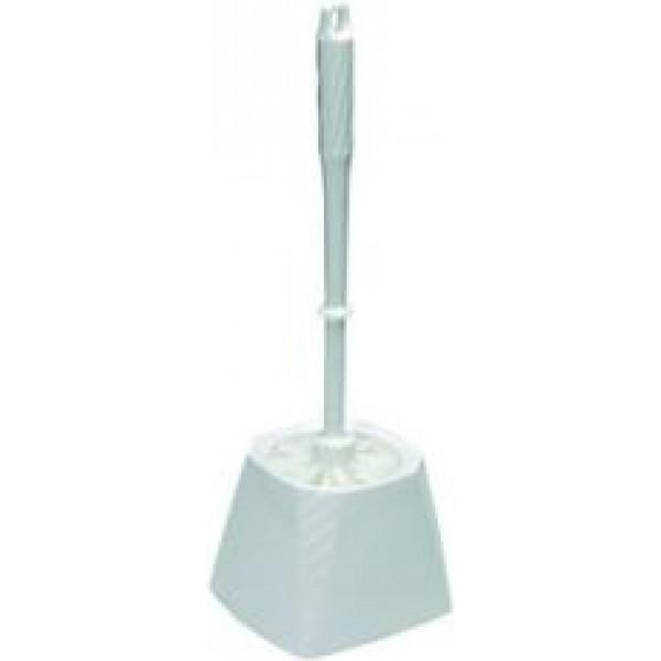 16227 1 600x600 - Toiletbørste med firkantet skål hvid