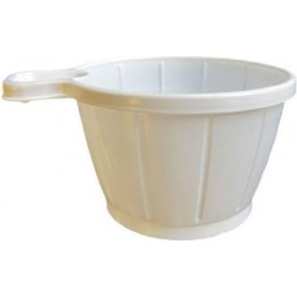 39531 1 600x600 - Kaffekop med hank 21 cl hvid plast