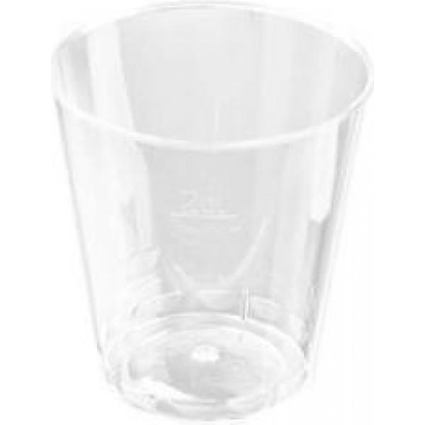 4419 600x600 - Plastglas snapsglas 2 cl klar ps højde 40 mm