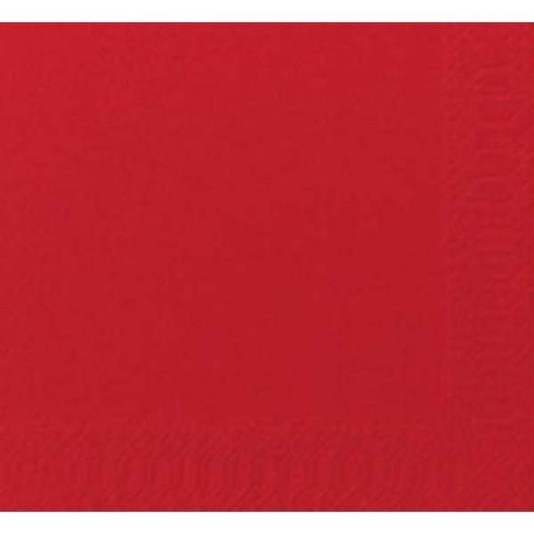 52104 1 600x600 - Serviet Duni 24x24 cm 3-lag Rød