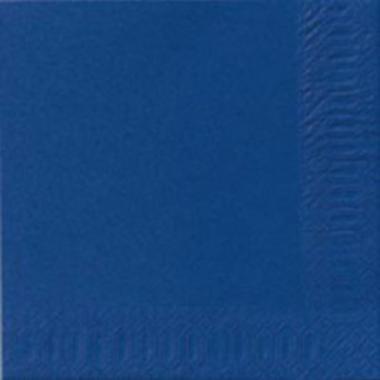 9619 - Serviet Duni 33x33 cm 3-lag Mørkeblå 125 stk