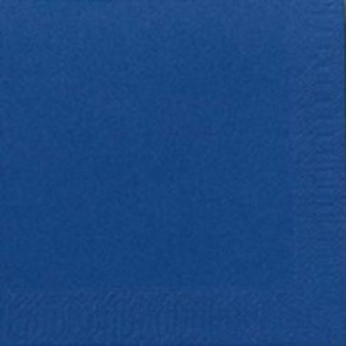 9763 1 - Serviet Duni 24x24 cm 3-lag Mørkeblå