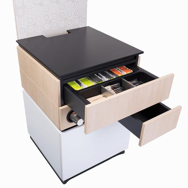 Cabinet 60cm White Wood 2 1 - Produkt kategori