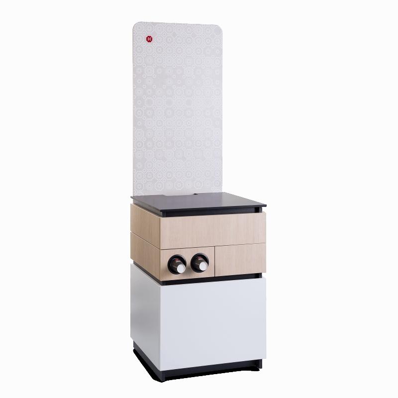 Cabinet 60cm White Wood 3 1 - Produkt kategori