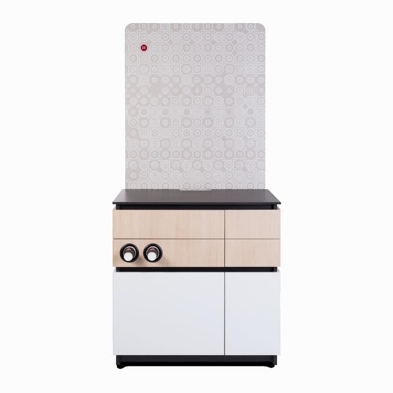 Cabinet 90cm White Wood 1 1 - Produkt kategori
