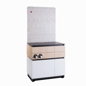 Cabinet 90cm White Wood 2 1 300x300 - Universal bord til kaffeautomat 90 cm. hvid
