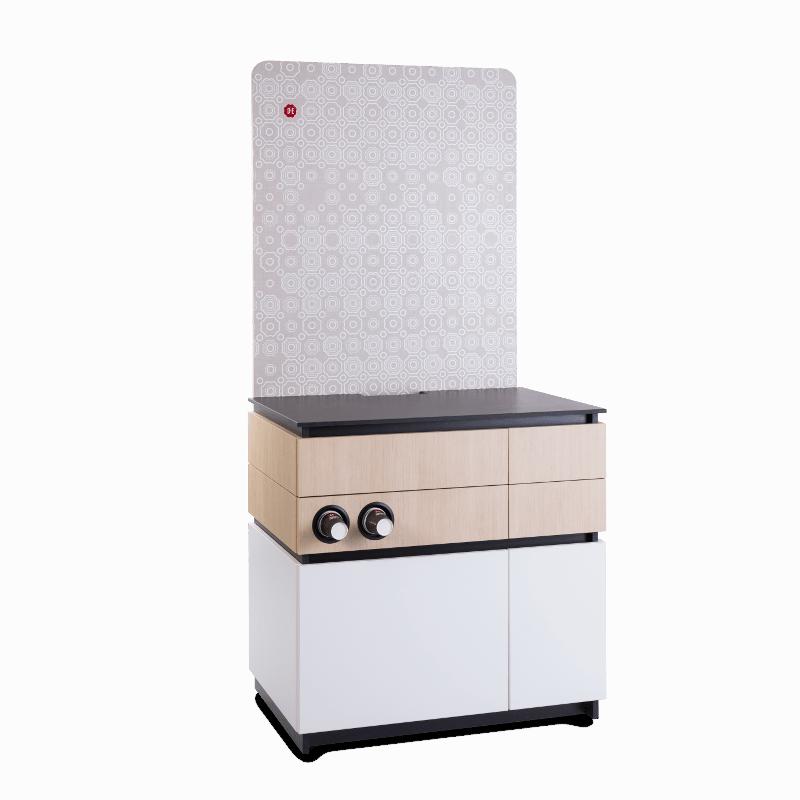 Cabinet 90cm White Wood 2 1 - Produkt kategori