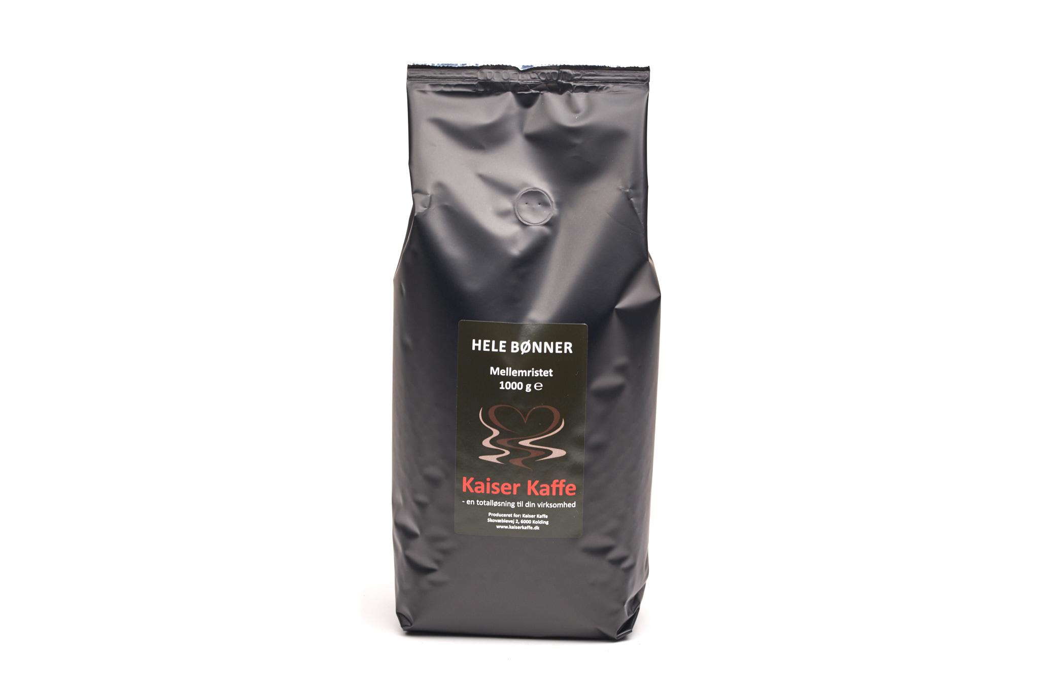 Kaiser Kaffe 1kg Kaiser Blend 13234 - Produkt kategori